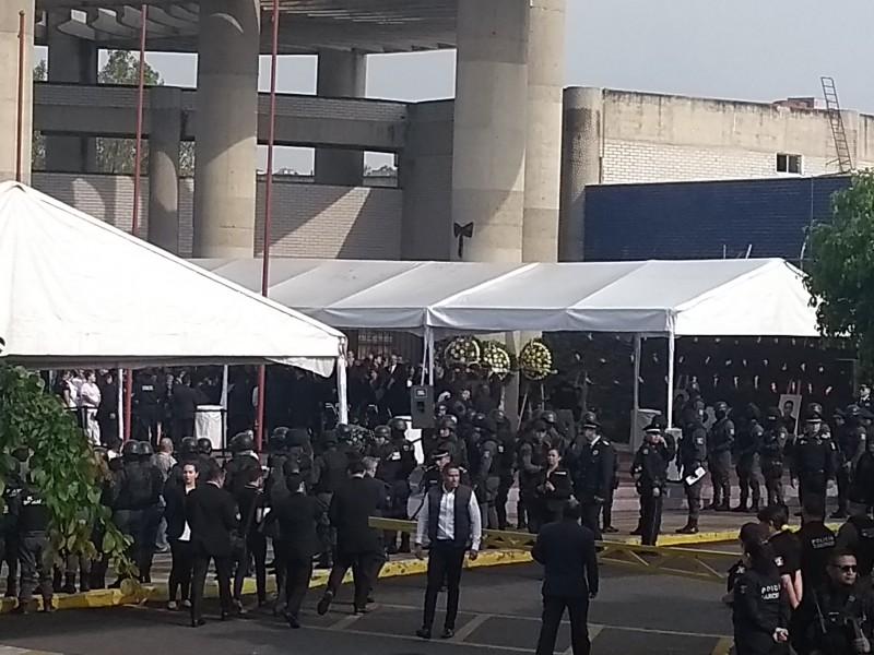 Homenaje a policías tapatíos caídos