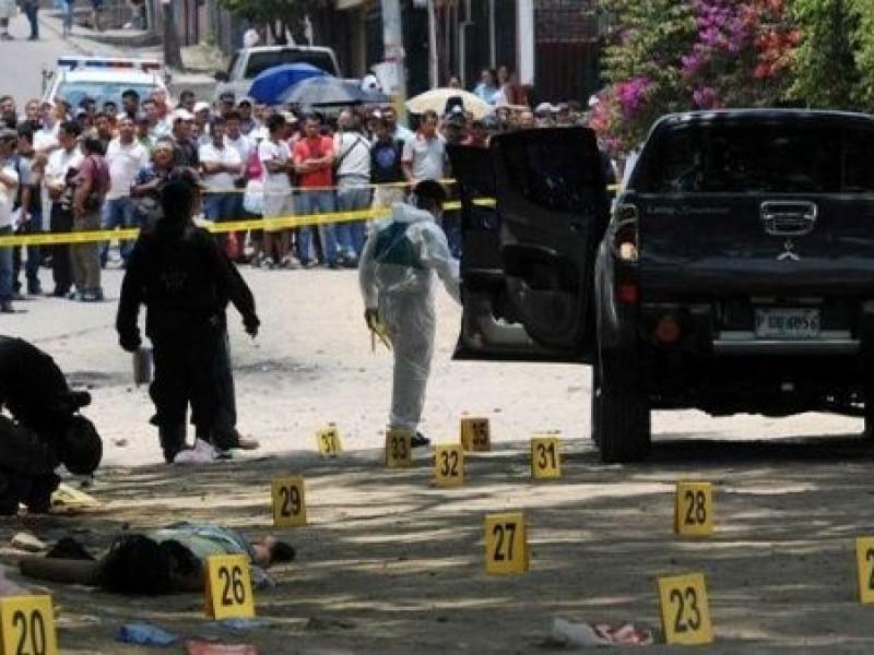 Homicidios en México crecen un 4.3% en julio