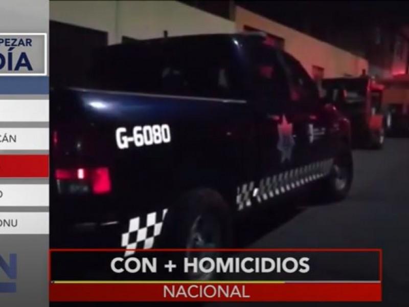 Homicidios, inseguridad... la violencia no para en el país