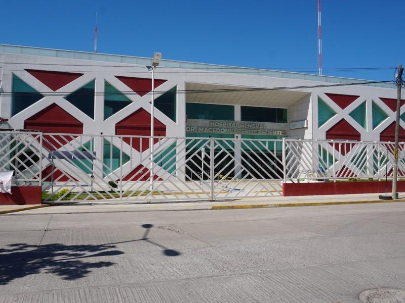 Hospital de Juchitán sólo urgencias; 46% de personal con Covid