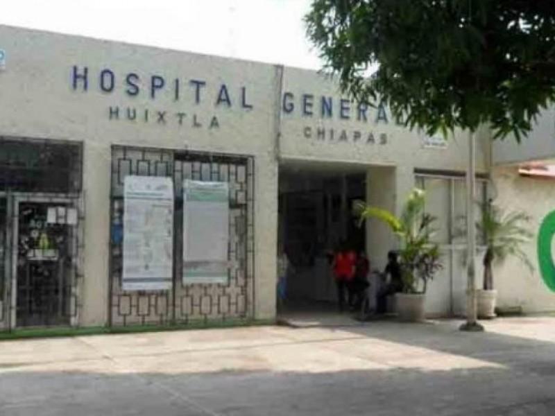 Hospital en Huixtla cerrado por reconversión