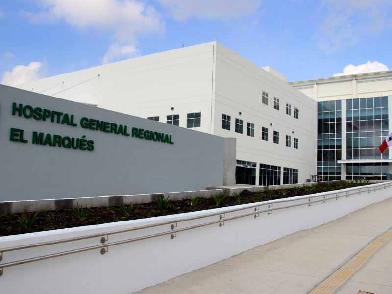 Hospital IMSS al 30% de capacidad