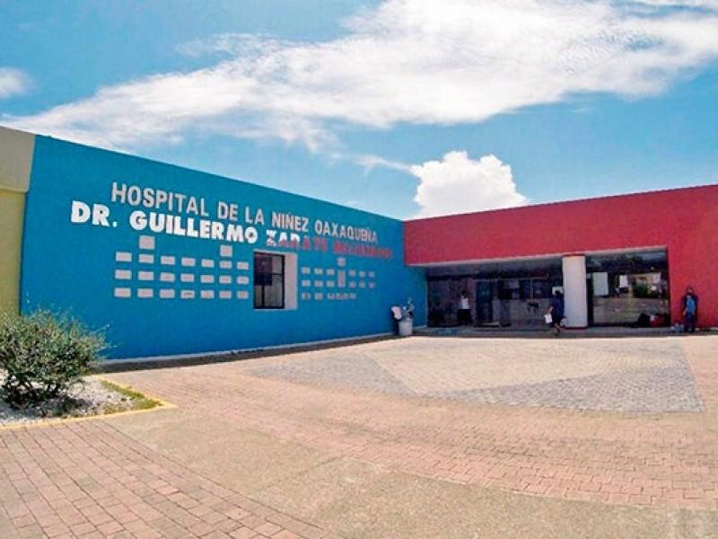 Hospital infantil con 75% de ocupación en camas Covid