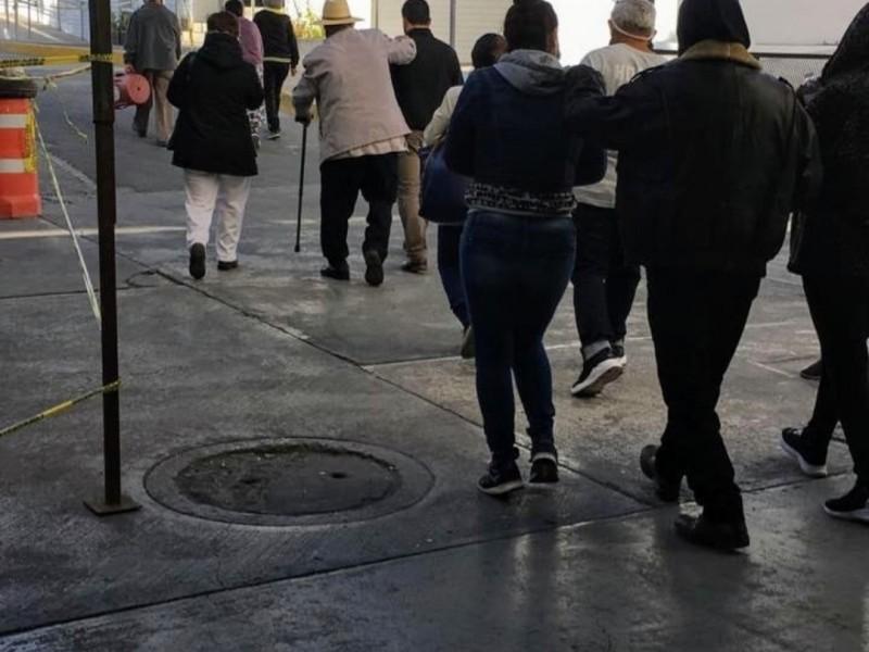 Hospital La Margarita reporta poca gente para vacunarse contra COVID