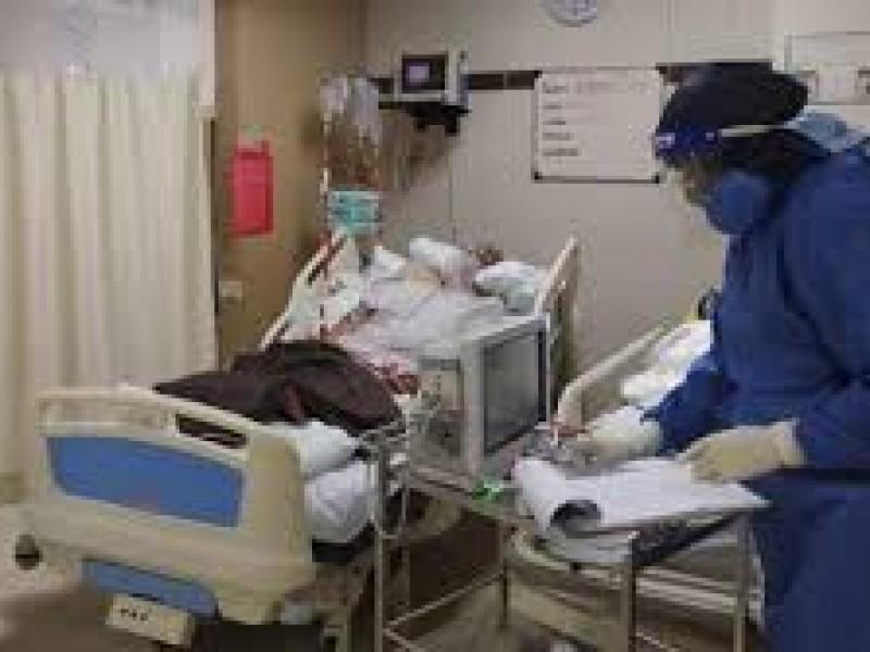 Hospitales COVID se encuentran arriba del 70% de ocupación