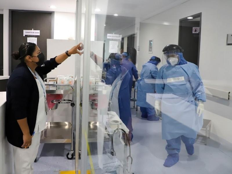 Hospitales de Lázaro Cárdenas permanecen al 100% de ocupación