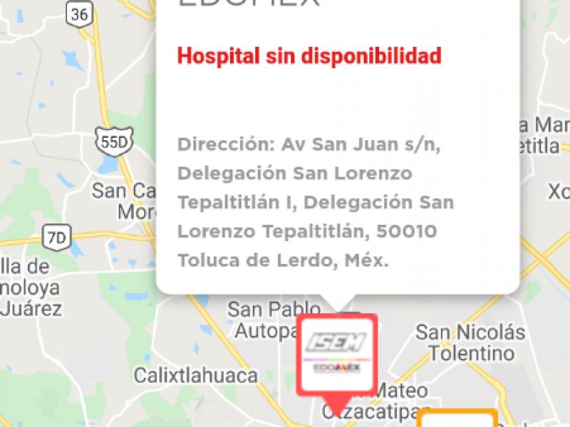 Hospitales del EDOMEX saturados de pacientes COVID