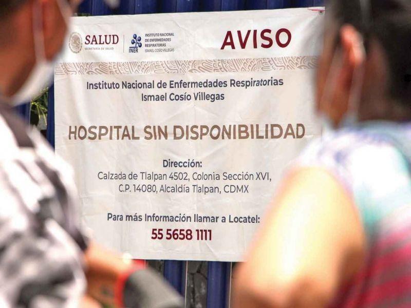 Hospitalizaciones complican el escenario en la Ciudad de México