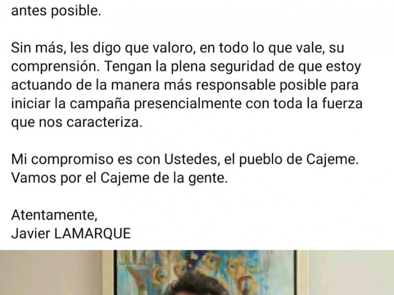 Hospitalizado Javier Lamarque