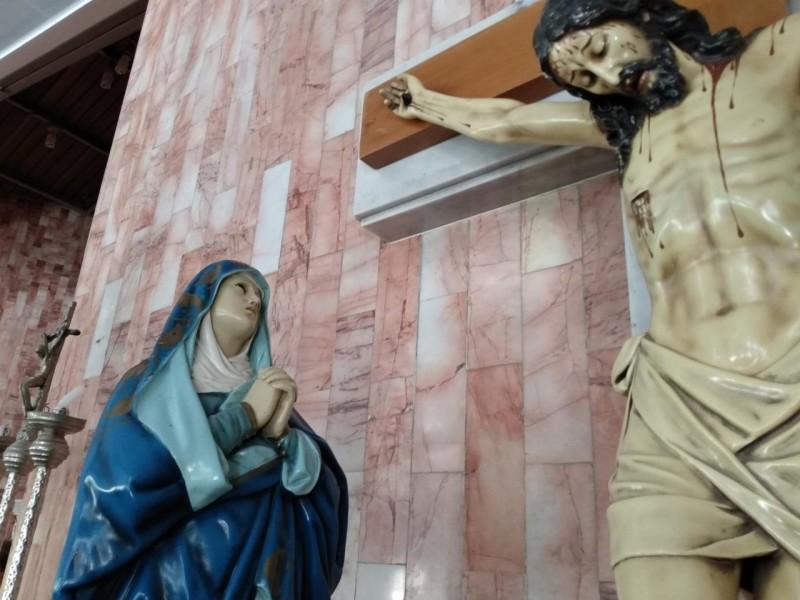 Celebran día de la Asunción de María