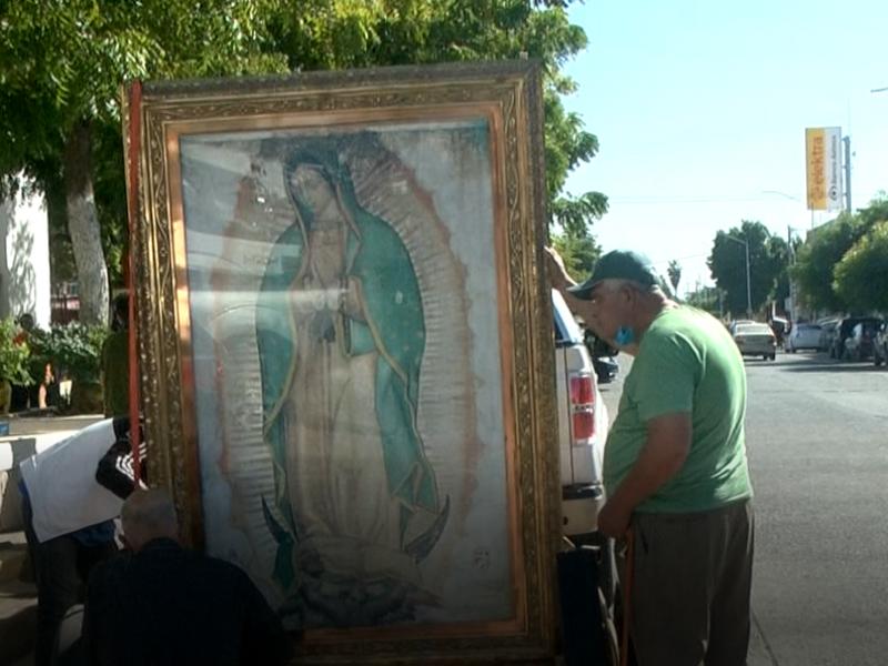 Hoy inicia peregrinación en honor a la Virgen de Guadalupe