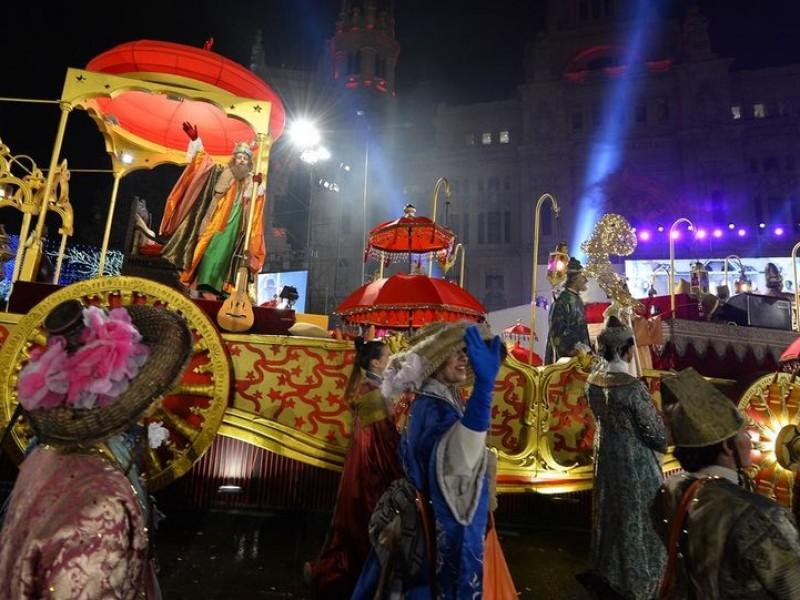 Hoy se realizará el desfile de Reyes Magos