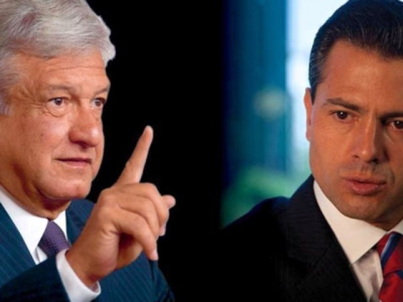 Hoy se reunirá AMLO con Peña Nieto