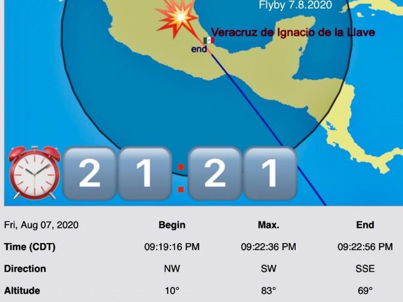 Hoy será visible la Estación Espacial en todo Veracruz