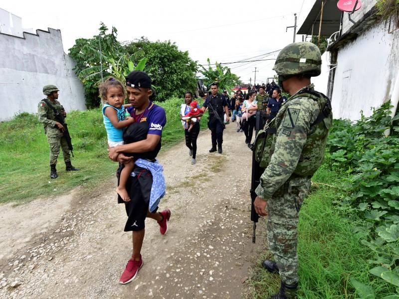 HRW acusa a México de expulsar migrantes sin debido proceso
