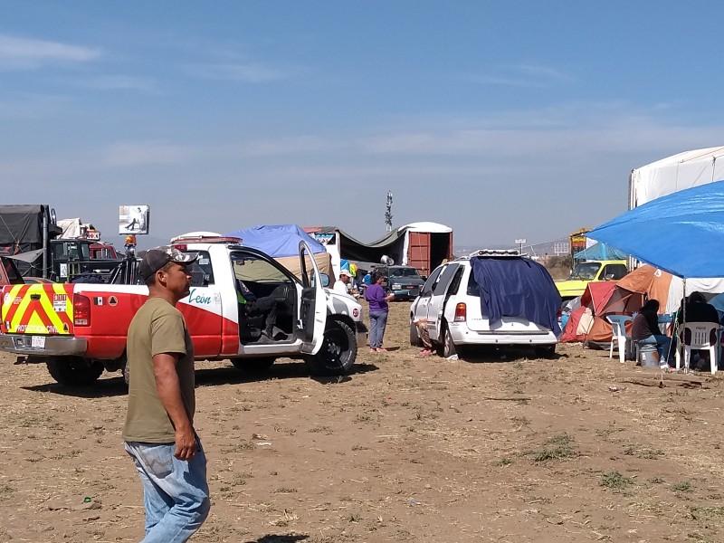 Hubo mal servicio en campamentos: Sanjuaneros
