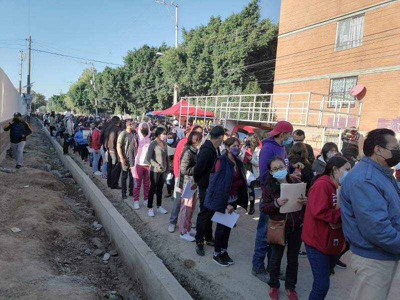 Hubo mayor organización en vacunación COVID en el HGS Puebla