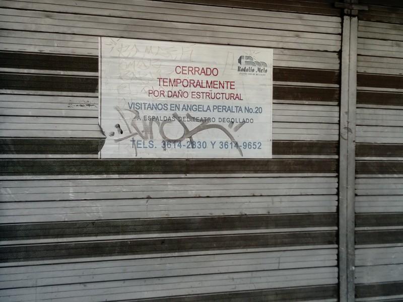 Hundimiento de excavadora en Alcalde provocó incertidumbre:Vecinos