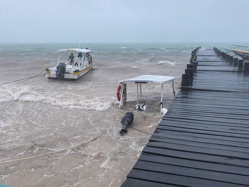 Huracán Delta se mantiene en categoría 4: Conagua