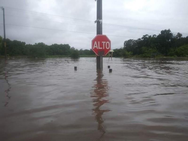 Huracán Enrique deja inundaciones y árboles caídos en Lázaro Cárdenas