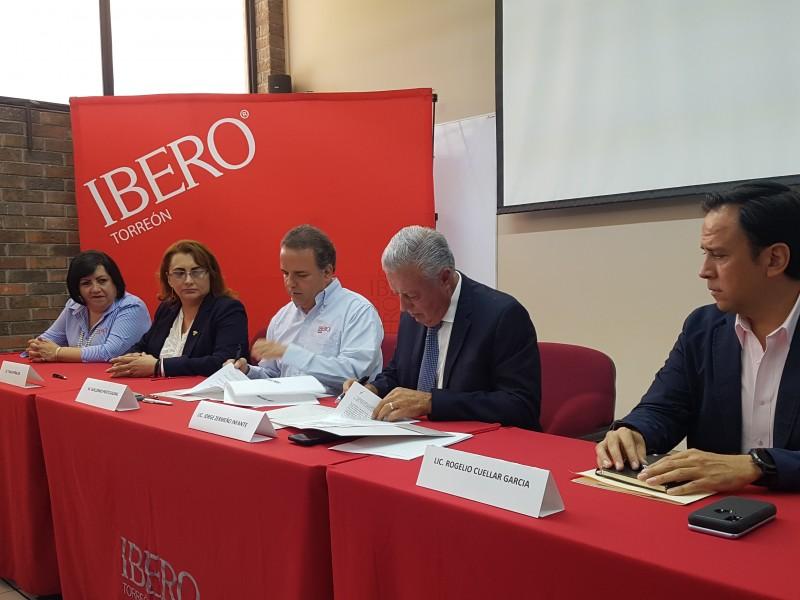 Ibero y Ayuntamiento firman convenio