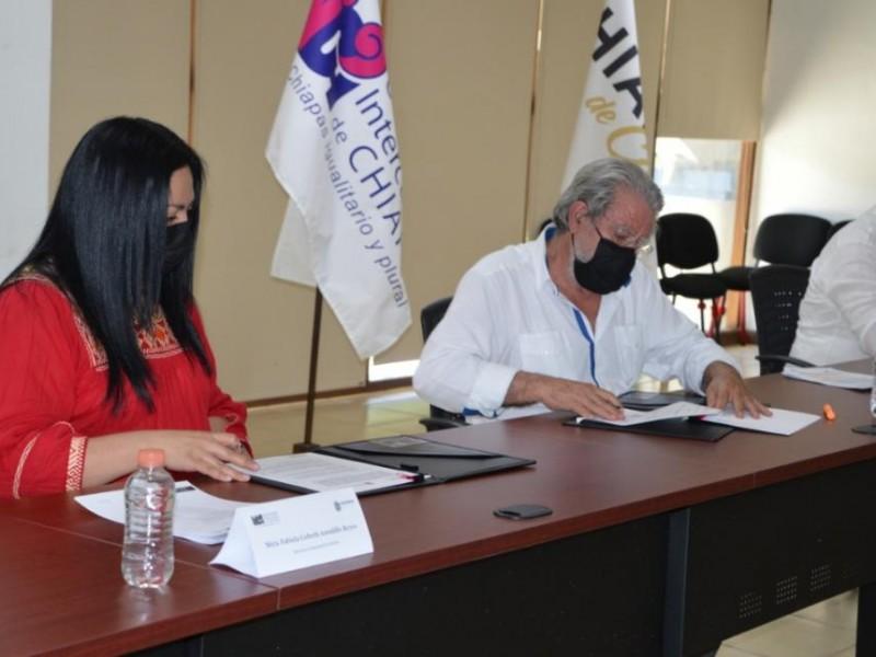 Icatech y Unich firman convenio de colaboración
