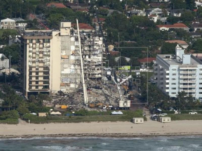 Identificadas cuatro de cinco víctimas mortales del derrumbe en Miami