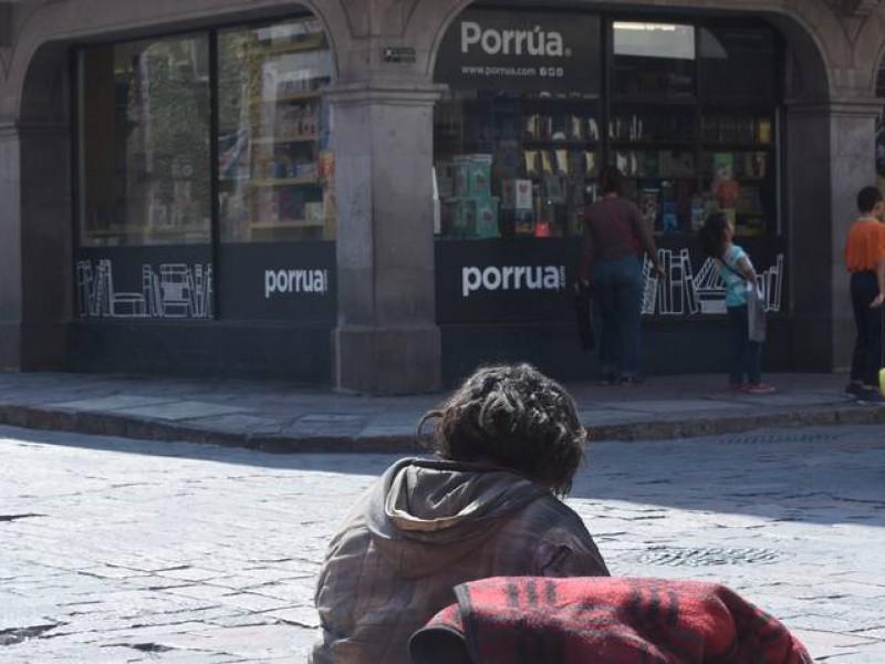 Identifican a 60 personas pernoctando en las calles de Querétaro