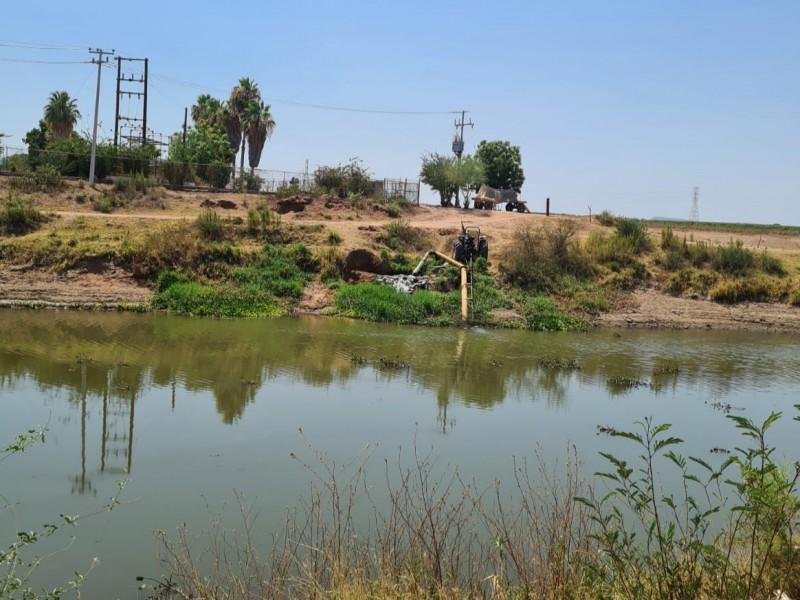 Identifican a productores que siguen extrayendo agua para uso agrícola
