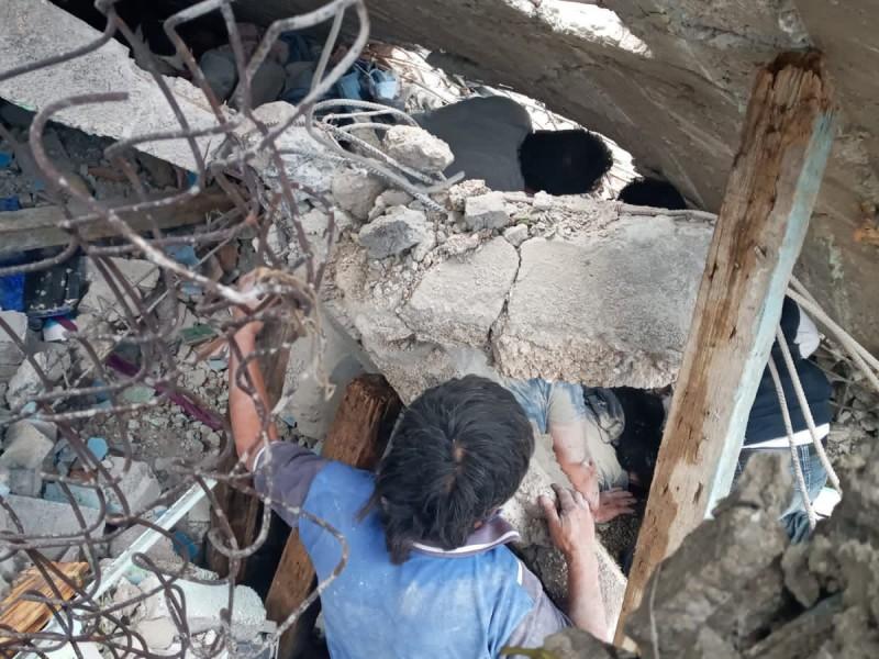 Identifican a una de las víctimas en cerro del Chiquihite