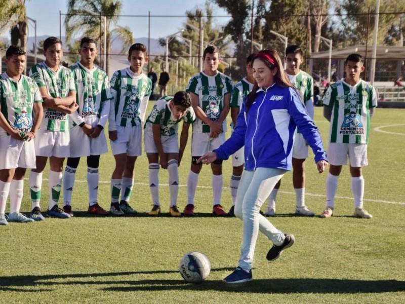 IED  busca dotar a todo Durango de infraestructura deportiva