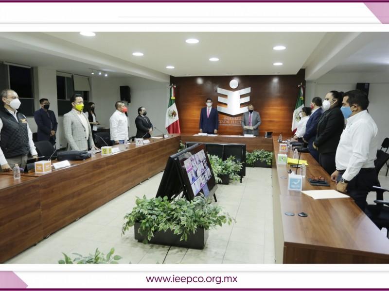 IEEPCO inaugura el proceso electoral 2020-2021 en Oaxaca