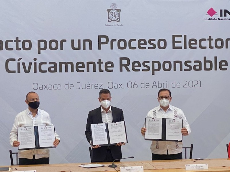 IEEPCO se suma al Pacto por un Proceso Electoral Responsable