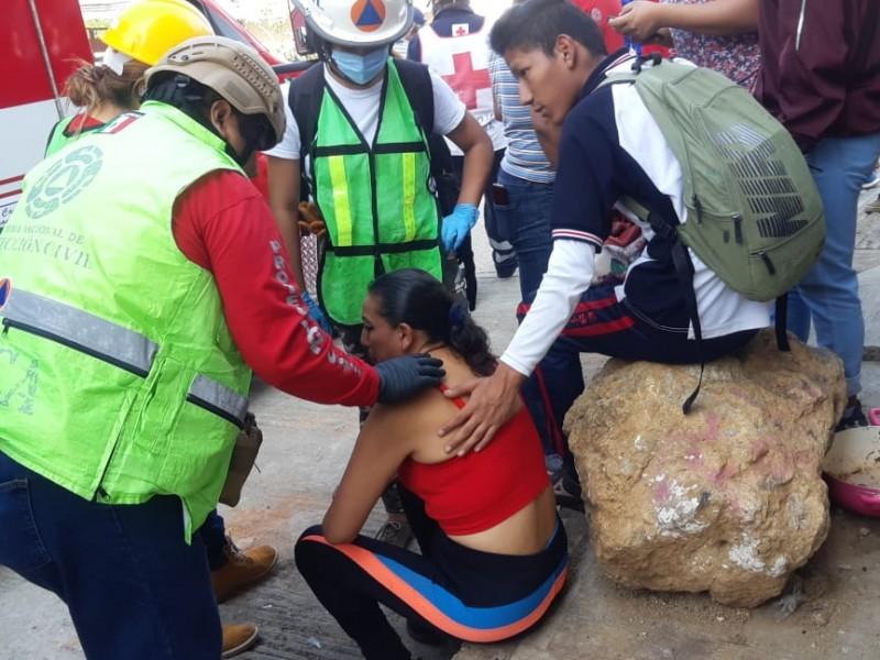IEEPO suspende clases por explosión en SanMartínMexicapam