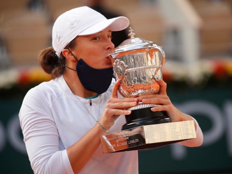 Iga Swiatek campeona del Roland Garros