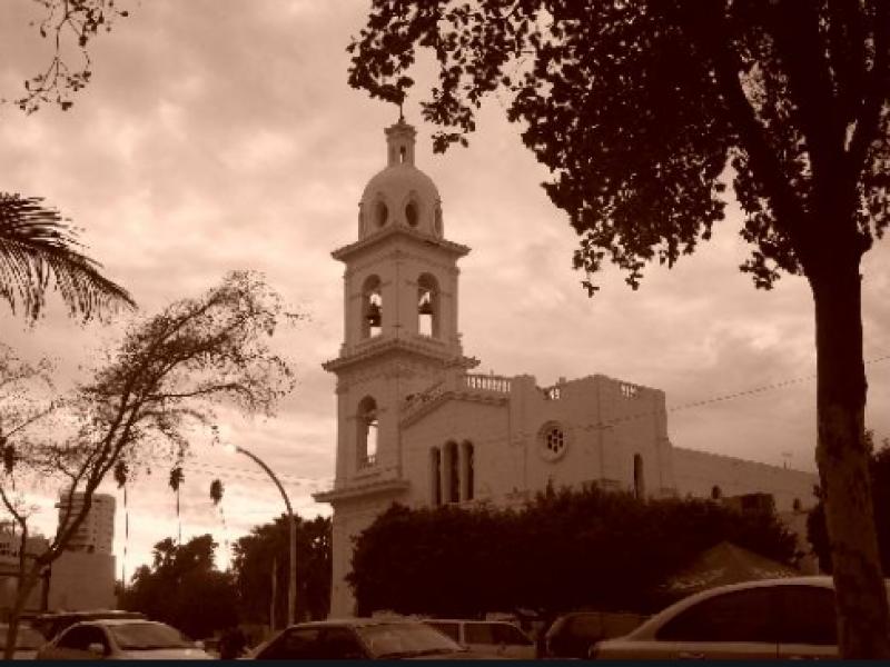 Iglesia del Sagrado Corazón, templo más antiguo en Los Mochis