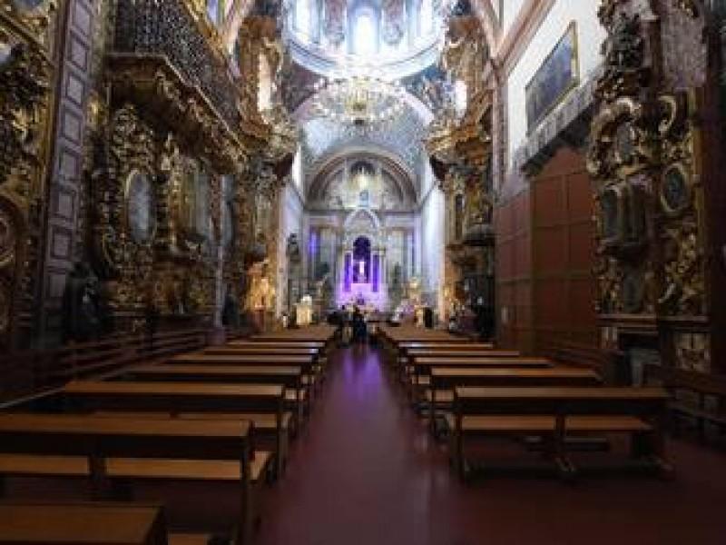 Iglesias al 25% de aforo en celebraciones religiosas