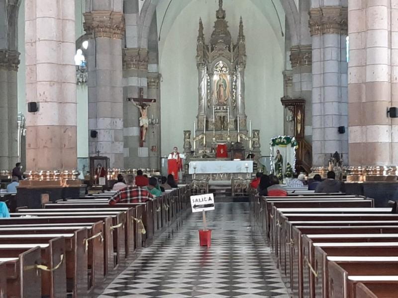 Iglesias católicas reducen asistencia en misas para San Judas Tadeo