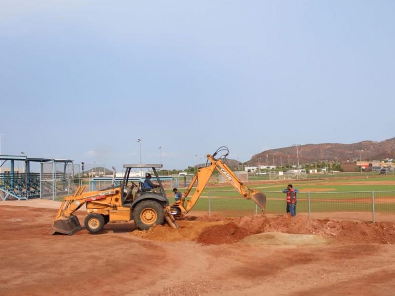 Iluminarán el campo 6 de béisbol de la UD Julio Alfonso