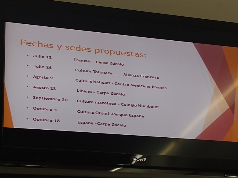 IMACP presentó propuestas de eventos multiculturales