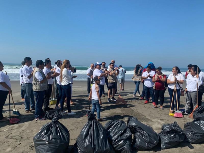 Implementa ICHEJA brigadas de limpieza en playas chiapanecas