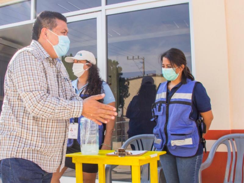 Implementan acciones contra el Covid-19 en Ciudad Ixtepec