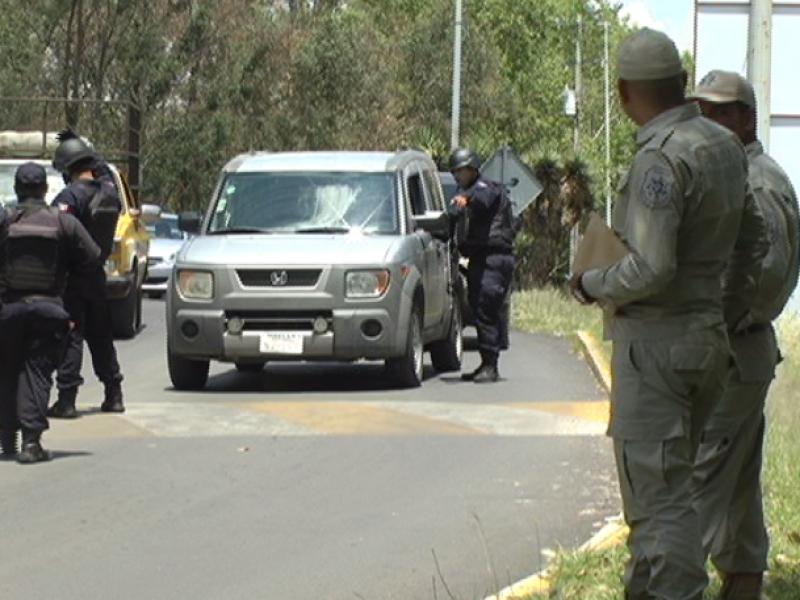 Implementan operativo de seguridad en García Salinas
