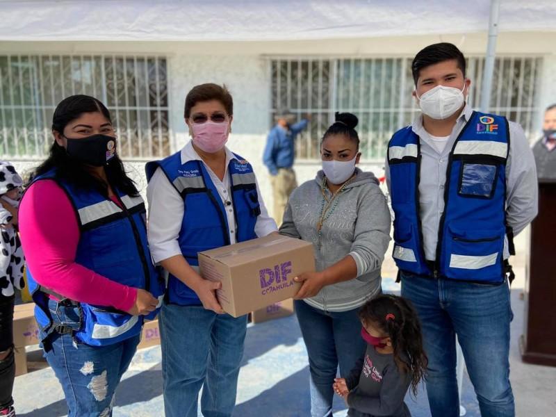 Implementan programa de Asistencia Social Alimentaria en San Pedro