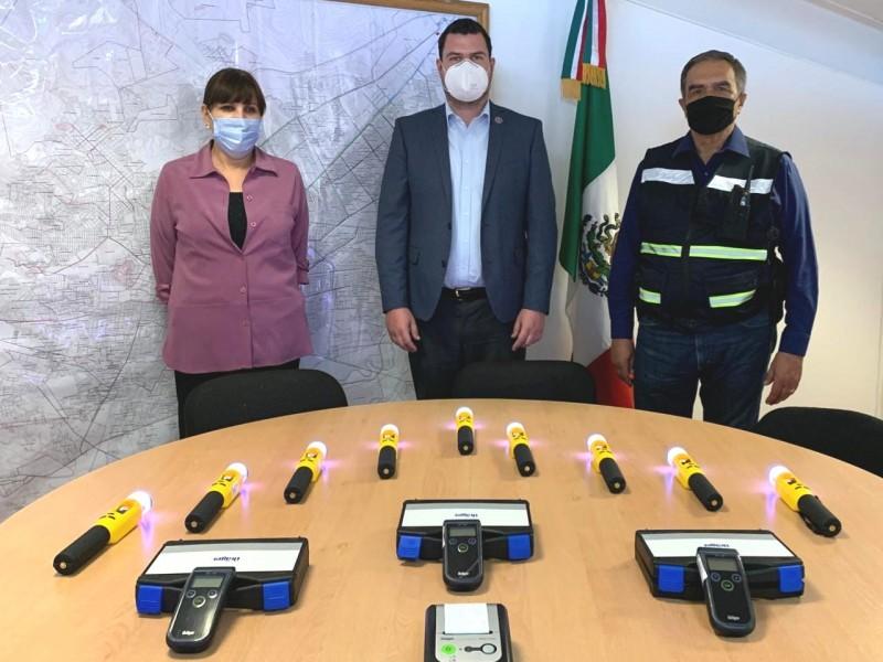 Implementará DMSP  bastones detectores de alcohol en operativos