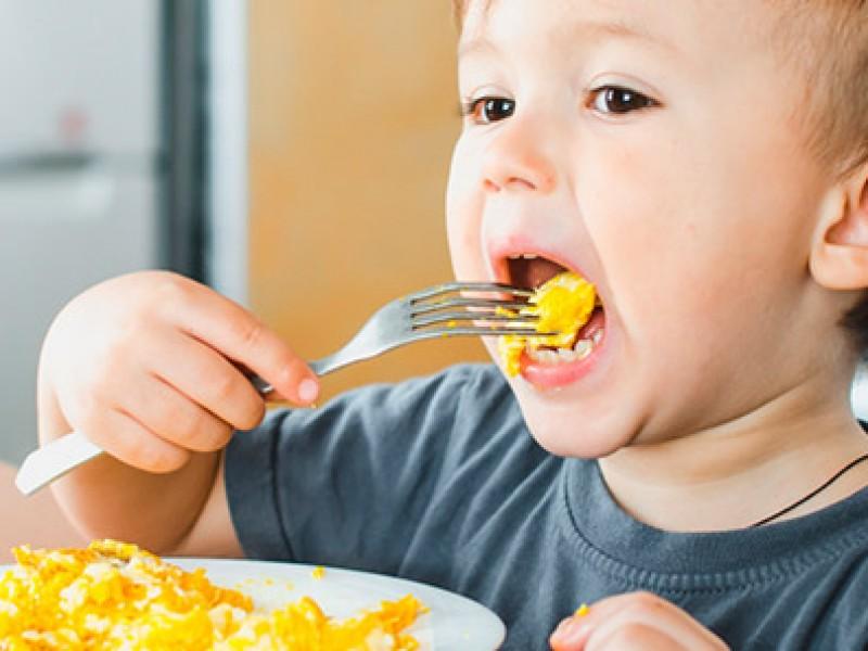 Importante desayuno balanceado en los niños