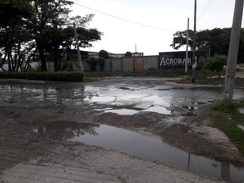 Importante desperdicio de agua en la capital