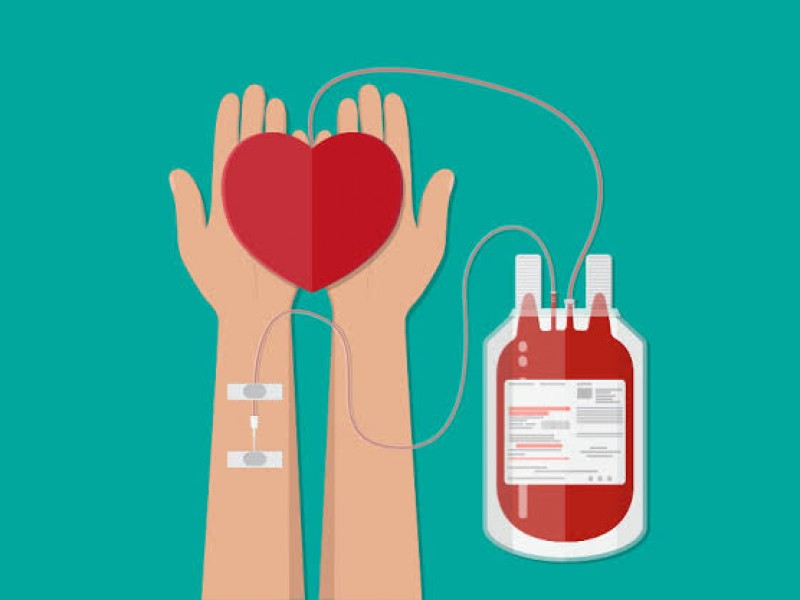 Importante donar sangre, también trae beneficios