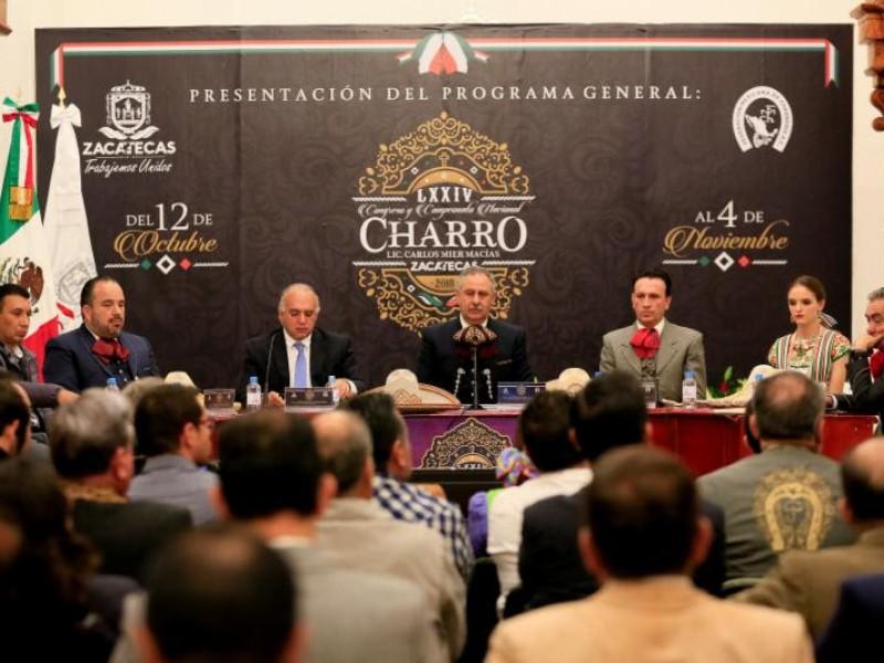 Imprecisa millonaria inversión al Campeonato Nacional Charro