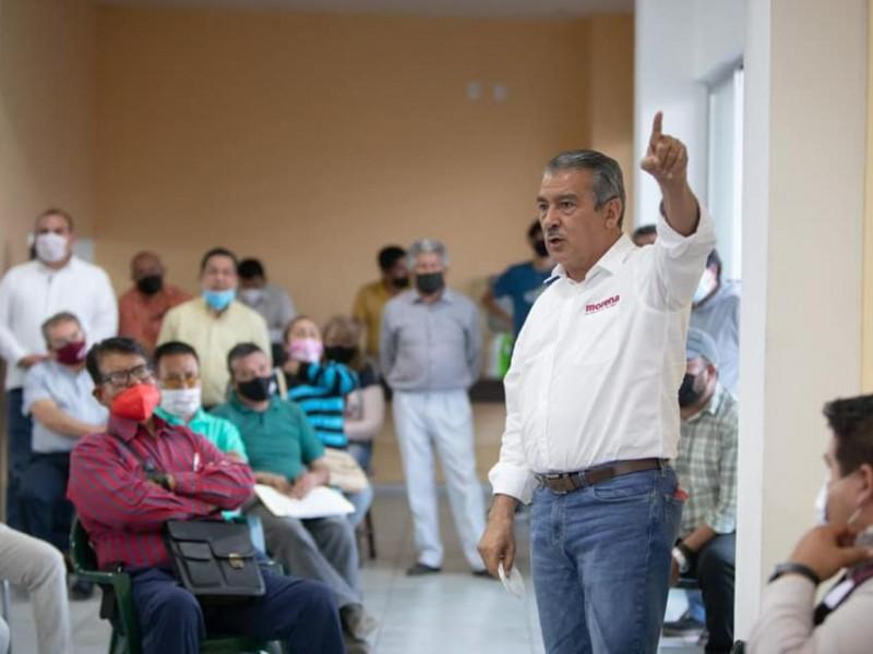 Impugnará Raúl Morón ante Tribunal Electoral por retiro de registro